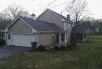 James Hardie Siding, Monterey Taupe Lap Siding and Arctic White Trim, Webster Groves, MO, St. Louis