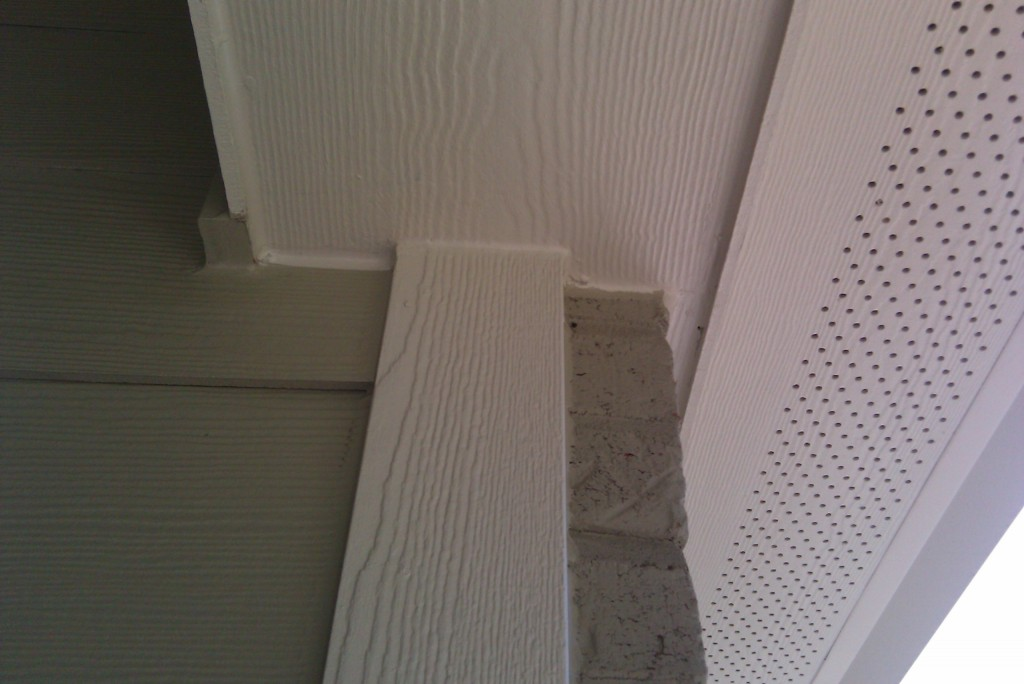 Fibre Cement Soffits : St louis siding hardie board cement fiber