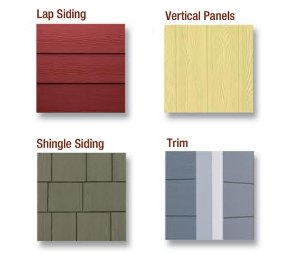 St louis siding hardie board cement board fiber for Type of siding board