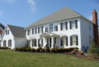 Siding, Chesterfield, MO, James Hardie, Fiber Cement, Arctic White Siding, Arctic White Trim
