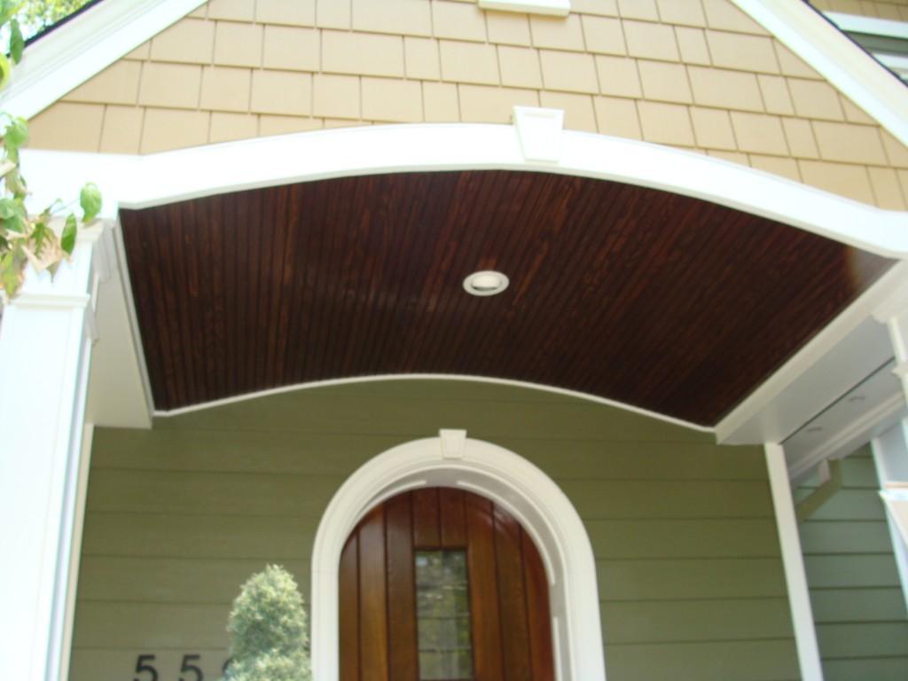 Portico Build With James Hardie Siding Install Kirkwood Mo Stl Siding Pros