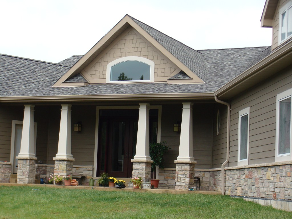 Image gallery hardy board siding colors for Cobblestone shutters