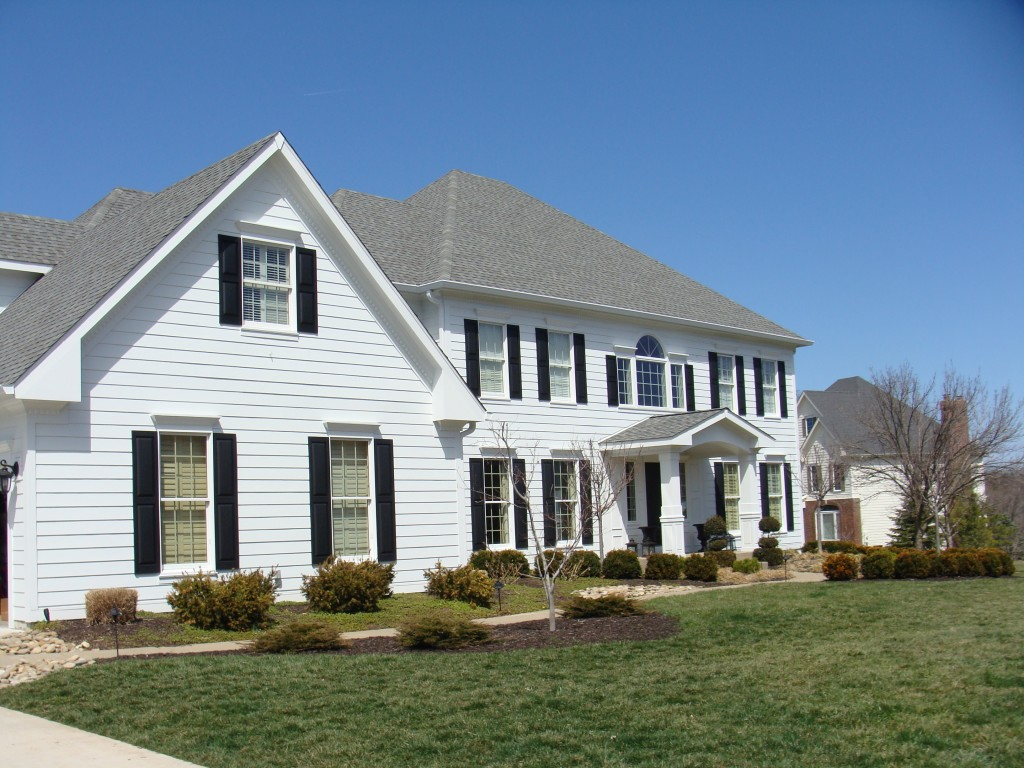 James Hardie Siding And Trim In Arctic White Portico Build And Window Expansion Chesterfield