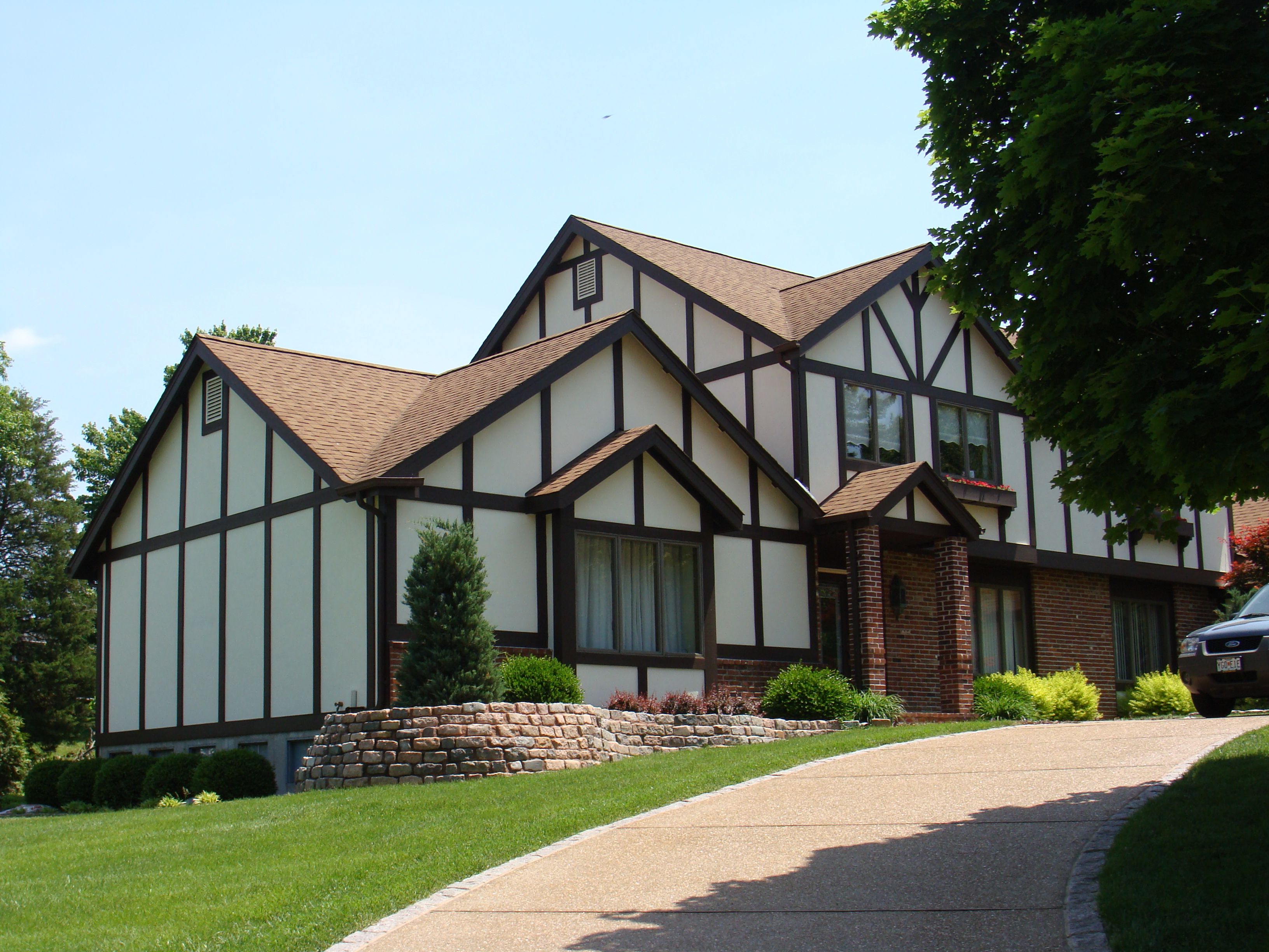 Stucco Cement Board Siding : St louis siding hardie board cement fiber