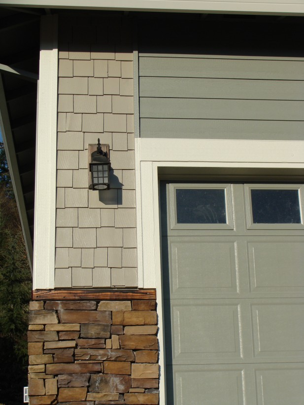 James Hardie Design Sample Mountain Sage Siding Khaki